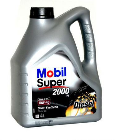 Olej Mobil Super 2000 X1 Diesel 10W/40 4L