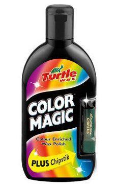 Turtle Wax Color Magic wosk koloryzujący Czarny 500ml + kredka do rys