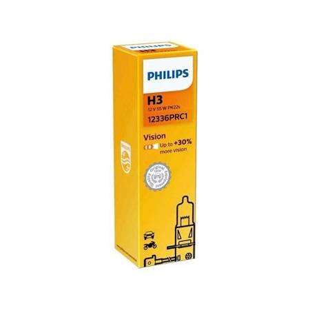 Żarówka H3 Philips VisionPlus +30% - 1szt