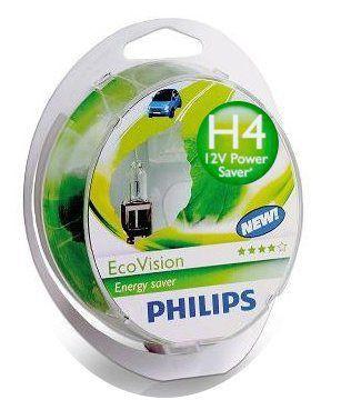 Żarówka H4 Philips Eco Vision - 2szt