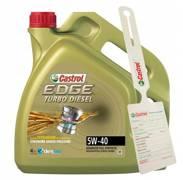 Olej Castrol Edge 5W-40 PC Turbo Diesel 4L + zawieszka