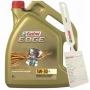 Olej Castrol Edge Titanium FST LL 5L 5W-30 + zawieszka