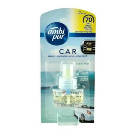 Ambi Pur Car zapach samochodowy Ocean Mist - wkład wymienny