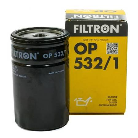 FILTRON fltr oleju OP532/1 - Ford Escort Mondeo Fiesta 1.6i-1.8i 16V, 92->