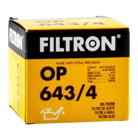 Filtr oleju OP643/4 Renault Dacia Nissan Opel