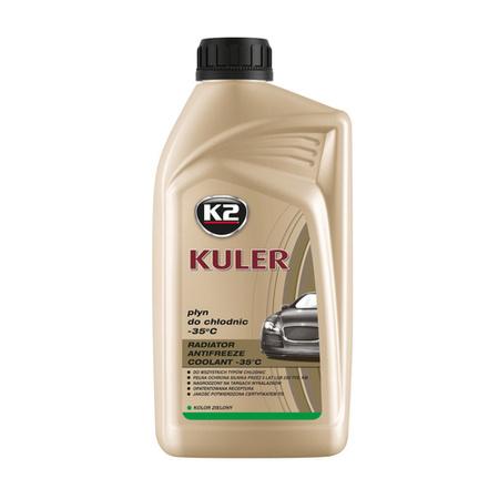 K2 Kuler gotowy płyn do chłodnic samochodowych Zielony 1L