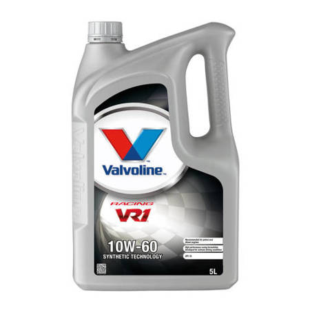 Olej silnikowy Valvoline VR1 Racing 10W/60 5L