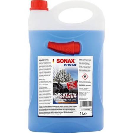 SONAX  Xtreme  Zimowy płyn do spryskiwaczy Do -20°C 4L
